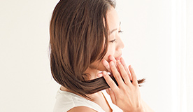 石けんシャンプーのきしみを抑えしっとりまとまる髪へ