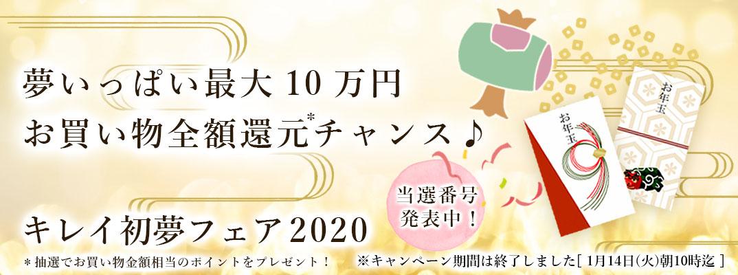 キレイ初夢フェア2020