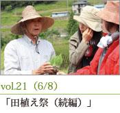 田植え 鯉農法
