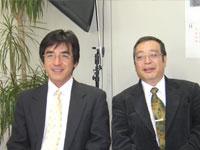 石けん職人の池田さんとネオナチュラル代表高柳」