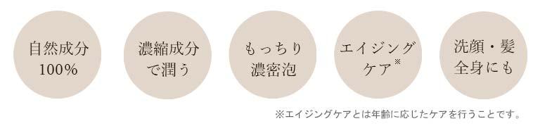 ◆極上の石けん