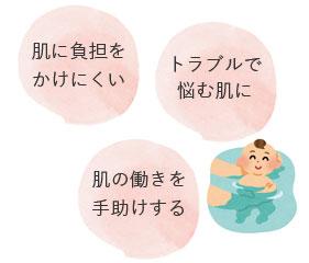 ベビーソープはしっかり保湿をしてトラブルから肌を守る