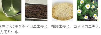 オーガニック保湿成分を贅沢に使用